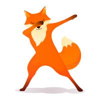 Fox Dabbing Dab Dance