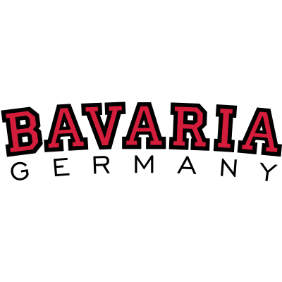 Bayern Bavaria Germany - Bavaria (Bayern) College Style zweifarbig aus München, Augsburg, Würzburg, Regensburg, Bayreuth, Nürnberg, Ingolstadt, Fürth, Erlangen, Bamberg, Aschaffenburg, Kempten, Rosenheim, Schweinfurt, Passau, Bayern - wiesn,oktoberfest,münchner,münchen sprüche,münchen spruch,münchen deutschland,münchen,munich germany,munich,muenchen,bayrisch,bayern deutschland,bayern,bavarian,bavaria germany,bavaria,Münchner,München,Bayern,Bavaria