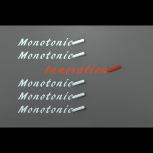 Innovation statt Monotonie