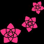 Venusblumen 2 - Blumen der Liebe, c,  Sinnbild für Liebe, Harmonie und Schönheit, Energiesymbol, Kraftsymbol