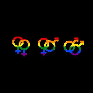 Male Female Homo Ehe Pride