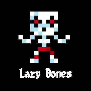 8-Bit Skelett (Lazy Bones)