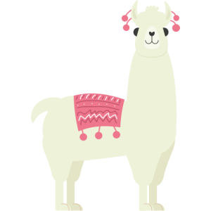 Alpaca aus Peru, Kamel, Llama