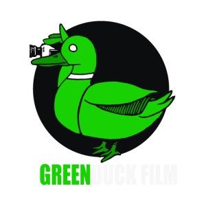 Greenduck Film white letters logo