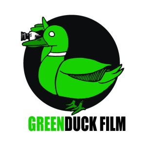 Greenduck Film Logo w. black letters