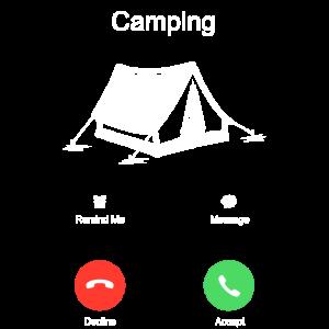 Zelten Zelt Camping Wildnis Natur Lustig Geschenk