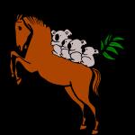 Die vier eukalyptische Reiter