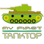 my first tank top Wortspiel