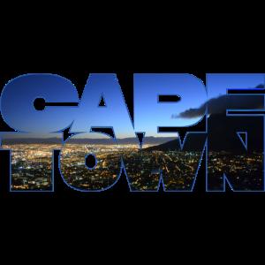 Cape Town (Foto als Schriftzug)