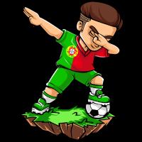 Tupfender Fußballspieler - Portugal - Fußball