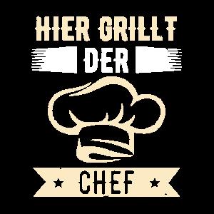 Grillt Chef braten bbq grillen garten sommer rost
