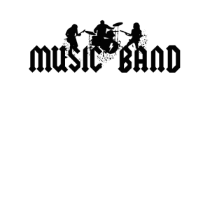 Music Band Shirt Tee . Musikband, Band, Rockband