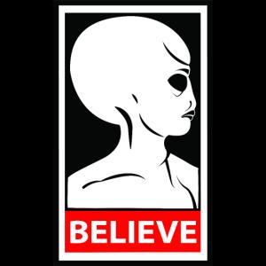 SpaceHoop - Alien glauben