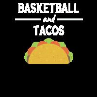 Lustiges Basketball und Tacos Spaß Essen Geschenk