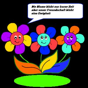 Blumen Freundschaft