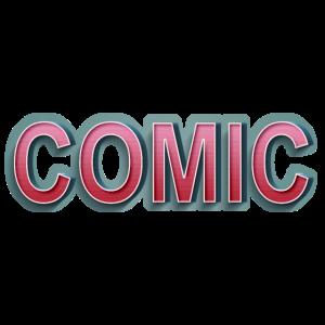 Comic Retro Schriftzug