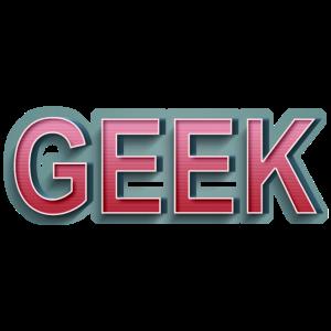 GEEK Comic Retro Schriftzug