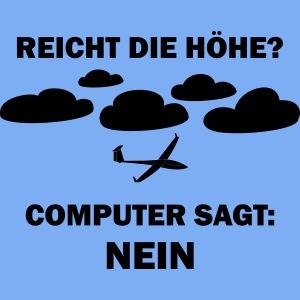 Computer sagt nein Segelflieger Flieschen