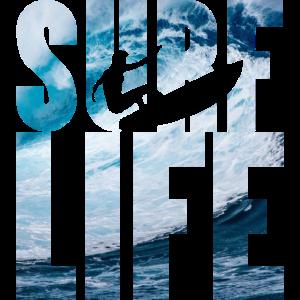 Surfe life Surfer Surfen
