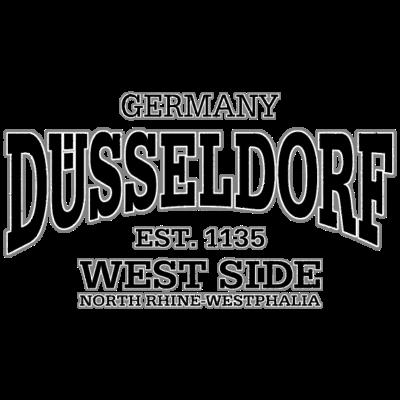 Düsseldorf (black oldstyle) - Düsseldorf (black oldstyle) - verein,rhein,karneval,fußball,fussball,fans,düsseldorf,deutschland,Verein,Ruhr,Rhein,Nordrhein-Westfalen,Königsallee,Karneval,Fußball,Fussball,Fans,Fan,Düsseldorf,Deutschland,Altstadt,1895