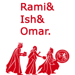 Rami&Ish&Omar Red Text