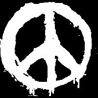 Peacezeichen Graffiti