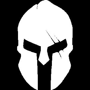 Spartan helmet white / Sparta
