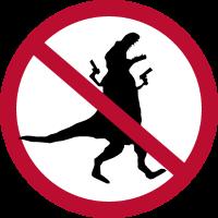 Verbot der Plünderung #dinosaurus