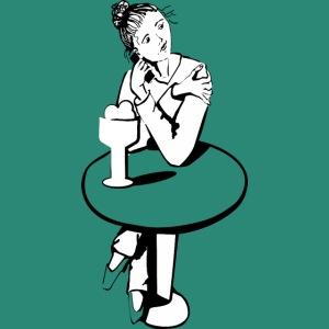 Mädchen am Tisch
