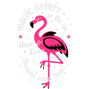 06 Flamingo Magic Spirit in the Air Hope Love