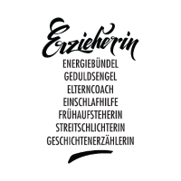 Erzieherin Poster
