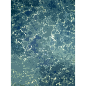 Textur des Meeres