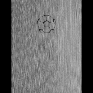 Fußball Cover Geschenk Edelstahl