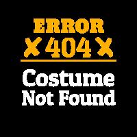 Error 404 Costume not Found | Last Minute Costume