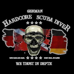 Taucher GERMAN Extrem Diver Deutscher Taucher