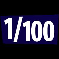 Einer von 100