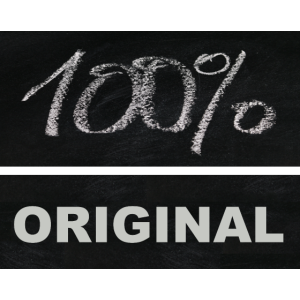 100 Prozent Original