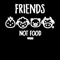 Friends Not Food #vegan