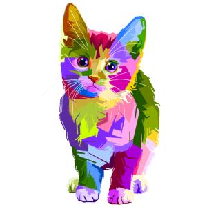 Die Bunte Katze