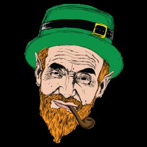 Irischer Kobold - Irland - Glück - Irish