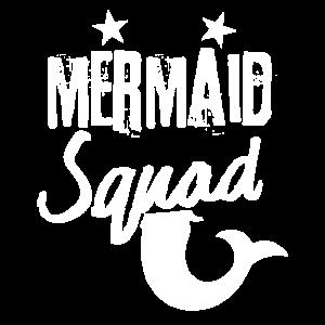 Meerjungfrau-Trupp-Kader