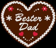 Vatertag Shirt: Lebkuchenherz