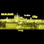 Prag City Tschechien Sommer