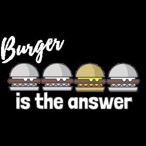 Burger Fast Food Hamburger Cheeseburger Geschenk