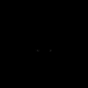 Hirschkopf simpel schwarz