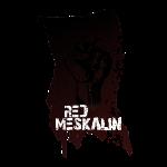 Red Meskalin Fist Flag