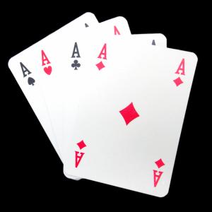 Poker der Asse