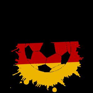 Deutschland Fussball Ball Geschenk Idee