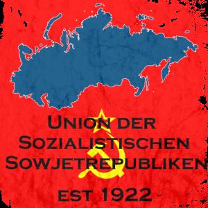 Union der sozialistischen Sowjetrepubliken UdSSR