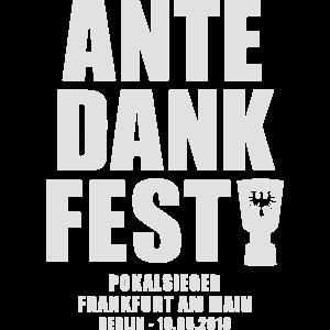 Ante Dank Fest Frankfurt FFM Pokalsieger hessen